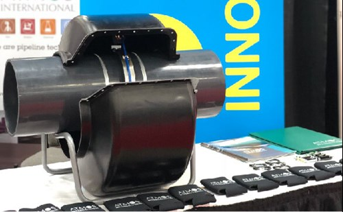 Atmos Non-Intrusive Pipeline Pressure Sensor at AEC 2018