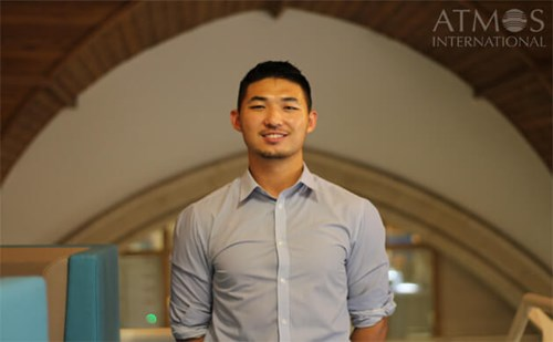Photo of Atmos' business development manager, Peter Han who is based in Houston